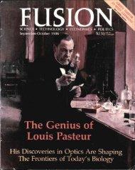 The Genius of Louis Pasteur