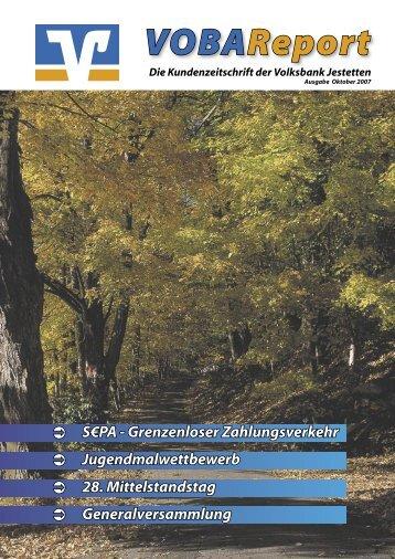 Jugendmalwettbewerb 2006/2007 - Volksbank-Jestetten