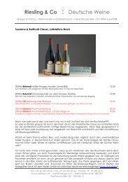 Riesling & Co Deutsche Weine