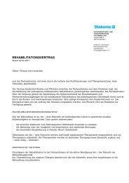 Behandlungsvertrag - Diakonie Düsseldorf