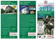 MCD-Tourenprogramm Wochenendtour Schwarzwald + Elsass ...