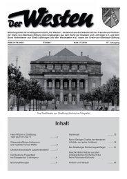 Der Westen 1-2 2010.indd - Die Gesellschaft - Elsaß und Lothringen
