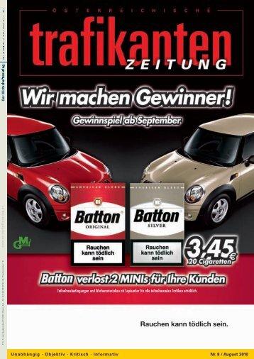 August 2010: Seite 1-48 (PDF, 11,6 - Trafikantenzeitung
