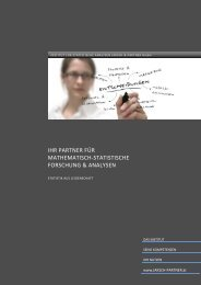 Institutsinformation (pdf, 520 KB) - Jaksch & Partner