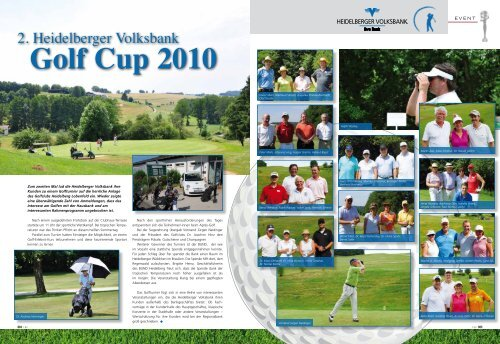 Golf Cup 2010 - Heidelberger Volksbank eG