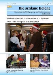 Hauszeitung Helene Ausgabe 1/2011 - ASB Begegnungs- und ...
