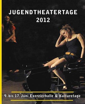 JugEndthEatErtagE 2012 - Oldenburgisches Staatstheater