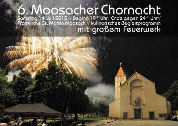 6. Moosacher Chornacht - Pfarrei St. Martin München-Moosach