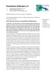 PM Genussreise am westlichen Bodensee 2012 lang - Tourismus ...