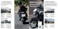 BMW Motorrad Zentren NRW Termine 2010