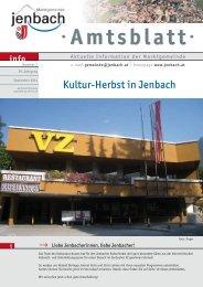 Amtsblatt Amtsblatt - Jenbach