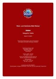 Katalog für Kategorie: Vodka - Wein