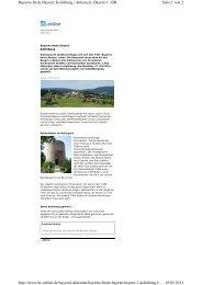 Seite 1 von 2 Bayerns beste Bayern: Kollnburg | Aktionen | Bayern 1 ...