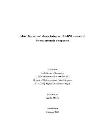 Identification and characterization of ADNP as a novel ...