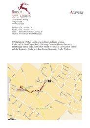 Uhr Montag - Freitag Samstag Sonn - Hirsch Hotel Gehrung