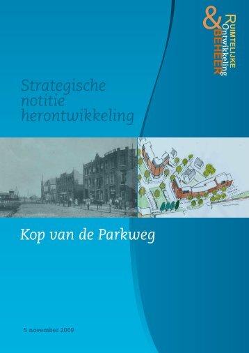 Strategische Notitie herontwikkeling Kop van de ... - Veluwse Poort
