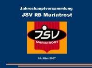 Dipl.-Ing. Dr. Karlheinz Fritsch - JSV Mariatrost