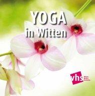 traditionelle thai massage - Volkshochschule Witten-Wetter-Herdecke