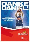 Das Abschiedsspiel von Daniel Stephan Daniels Champions – TBV ... - Seite 2