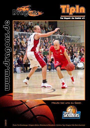 TipIn Ausgabe 33/03 - Dragons Rhöndorf