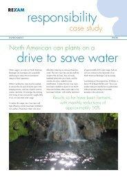 Water case studies