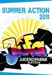 Projekte- JuFa Summer Action 2011 - Jugendfabrik Kufstein