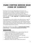 park center senior high code of conduct - Osseo Area Schools - Page 5