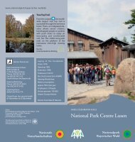 National Park Centre Lusen - Nationalpark Bayerischer Wald