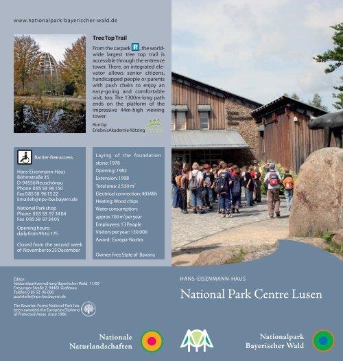 National Park Centre Lusen - Nationalpark Bayerischer Wald