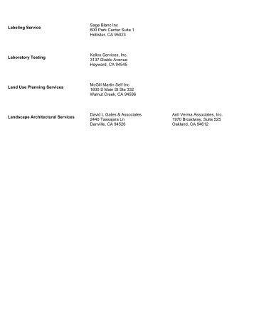 Labeling Service - Contra Costa County