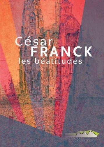 César FRANCK - Konzertchor Burgdorf