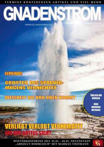 gnadenstrom - Herzlich Willkommen! | Gospel of Grace Ministries ...
