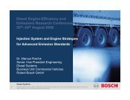 Injection System and Engine Strategies for Advanced ... - EERE