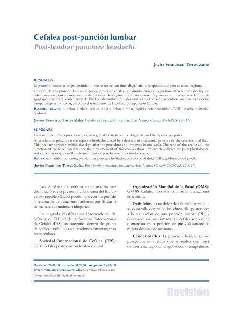 Presión de apertura del líquido cefalorraquídeo (csf)