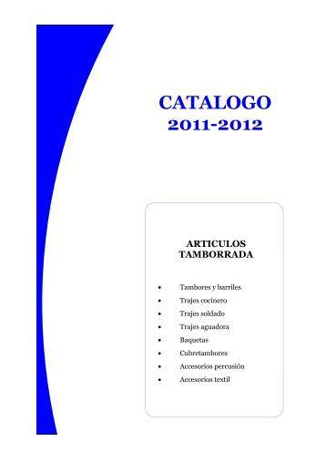 CATALOGO 2011-2012 - danborrada.com