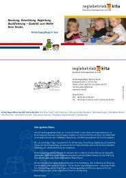Flyer Kindertagespflege - Jena