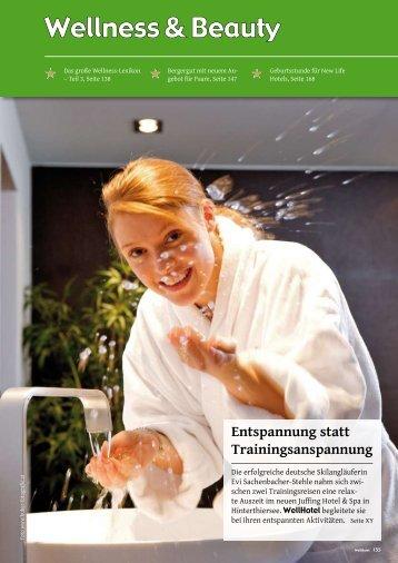 Entspannung statt Trainingsanspannung - Hotel & Spa Juffing