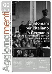Ag g iorna - Associazione Docenti d'Italiano in Germania