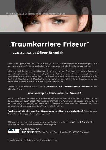 """""""Traumkarriere Friseur´ - Oliver Schmidt Hairdesign"""