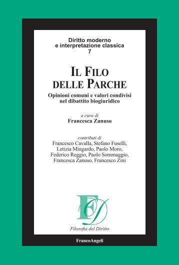 filo delle parche - Franco Angeli Editore