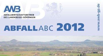 Abfall ABC - Abfallwirtschaftsbetrieb des Landkreises Göppingen