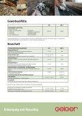 Entsorgung und Recycling Kontaminierte Böden/Bauschutt ... - Geiger - Seite 3