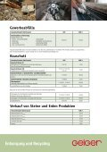Entsorgung und Recycling Kontaminierte Böden/Bauschutt ... - Geiger - Seite 5