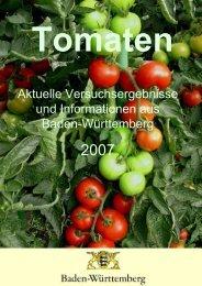 Tomaten - Baden-Württemberg