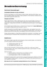 Druckvorbereitung - Ritter + Wirsching Fotovertrieb GmbH