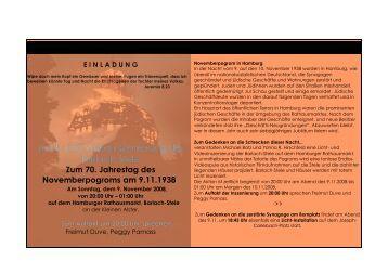 einladung - Liberale Jüdische Gemeinde Hamburg