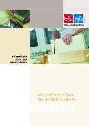 Buchbinder Einzel u Sonderferti - BFW Bad Pyrmont & BFW Weser ...