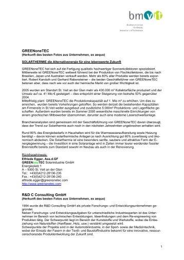 Unternehmen im Portrait (pdf 29 KB)