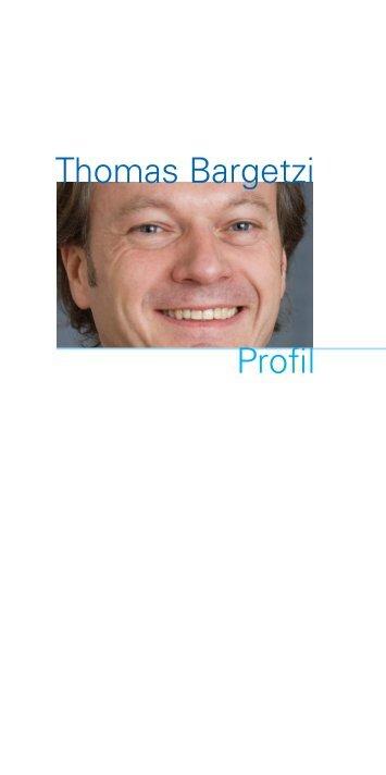 Thomas Bargetzi Profil