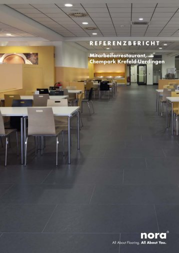 Referenzbericht Bayer Kantine Krefeld - Nora.com